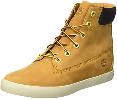 Timberland Flannery 6In, Sneakers Hautes Femmes, Jaune (Wheat), 40 EU