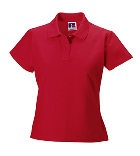 Z577F Ultimate Cotton Polohemd Damen Poloshirt Classic Red