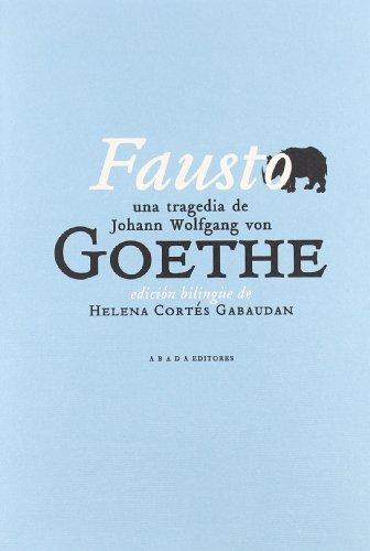 Fausto Edic.Bilingue (Clásicos de la literatura)
