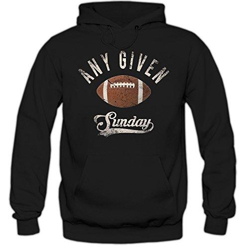 Any Given Sunday An jedem verdammten Sonntag Hoodie Herren Super Bowl American Football Hoodies NFL Kapuzenpullover, Farbe:Schwarz;Größe:L (Nfl Panthers Hoodie)