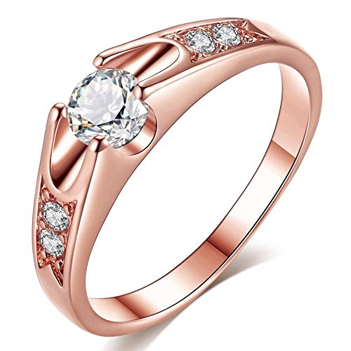 Ringe Loyal Damen Ring 333 Gold Gelbgold 15 Zirkonia Goldring Cheapest Price From Our Site Echtschmuck
