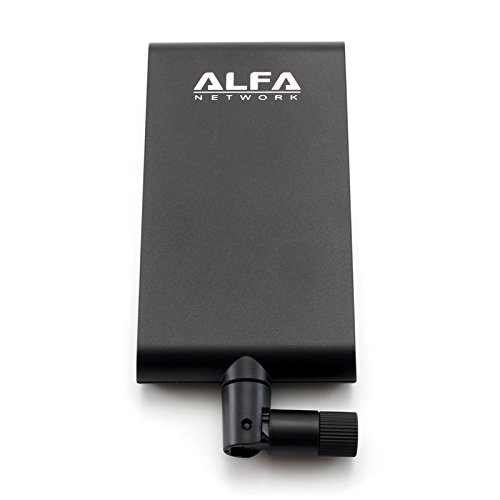 Alfa Network APA-M25 dual band 2.4GHz/5GHz 8 / 10dBi high gain directional indoor panel antenna with RP-SMA connector (compare to Asus WL-ANT-157) Panel-antenne