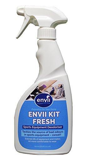 Envii kit fresh – deodorate probiotico per attrezzature sportive – deodorante per scarpe, pulisce e neutralizza gli odori – 750 ml