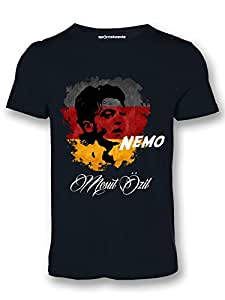 Sportskeeda Germany Mesut Ozil WC 14 Football T-shirt Black - XXL
