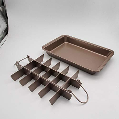 Brownie Pan Brownie Cutter Form Kuchen Brot Backform Backwerkzeug Küche Kuchen Werkzeug Küche Zubehör -