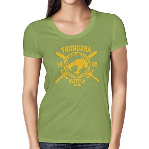 TEXLAB - Thundera Battle Club 1985 - Damen T-Shirt, Größe XL, (Ra Xl She Kostüm)