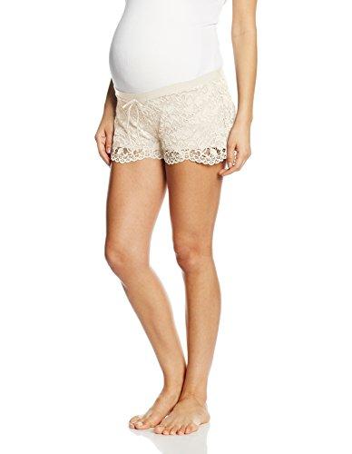 Cache Coeur Sofia, Pantalon de Pyjama Femme Ecru - Off-White (Pearl)