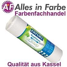 Erfurt Rauhfaser 32 Großrolle mittel fein weiss (Profiqualität) Länge:125 m / Breite:0,75 m für ca. 93,7 m²
