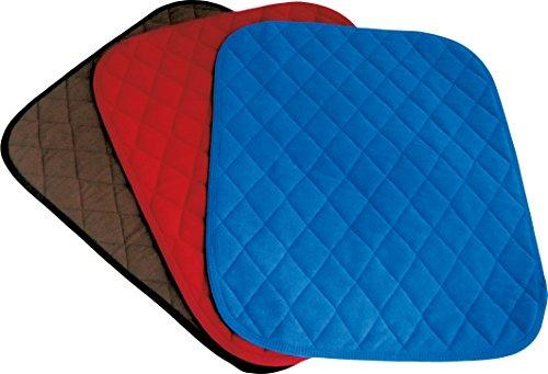 Sitzauflage, 40x50 cm, rot | Sundo Homecare's saugfähige Auflage bei Inkontinenz | Sitz-Schutzauflage für Heim, Auto & Rollstühle | Wasser-Undruchlässige Sitzpolster