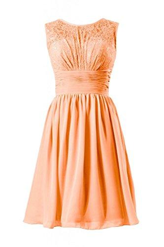 daisyformals dentelle vintage robe courte en dentelle robe de demoiselle d'honneur soirée robe (bm2529) Orange - #22-Orange