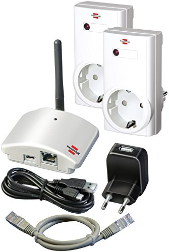 Home Automation Kit (Brennenstuhl Brematic Home Automation Gateway GWY 433 Starter Kit, 1294090)