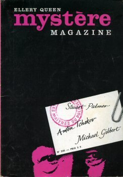 Mystère Magazine n° 220 - Stuart Palmer / Anton Tchekov / Mickaël Gilbert