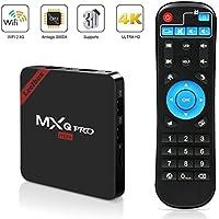MXQ Pro Mini Android TV Box, Quad-Core Smart TV Box, 4K*2K UHD H.265, HDMI, USB*2, WiFi Media Player, Android Set-Top Box