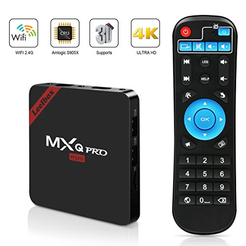 MXQ Pro Mini Android TV Box, Quad-Core Smart TV Box, 4K*2K UHD H.265, HDMI, USB*2, WiFi Media Player, Android Set-Top Box