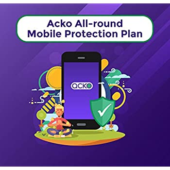 Acko 1-year Total Damage Protection Plan for Phones between INR 35,001-50,000
