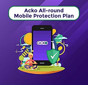 Acko 1-year Total Damage Protection Plan for Phones between INR 25,001-35,000