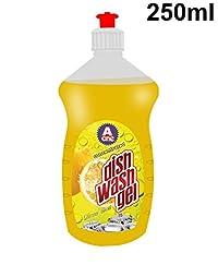 Aone Dishwash Gel Lemon Blast 250ml (Buy1 Get1 Free)