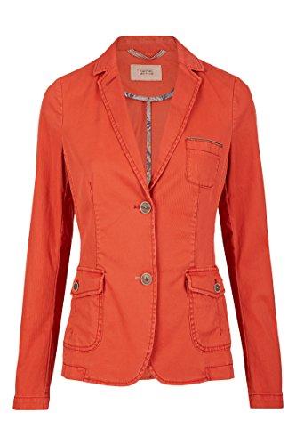 Camel Active Womenswear Damen Blazer, Rot (Red 54), 44