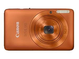 Canon IXUS 130 Digitalkamera (14 Megapixel, 4-fach opt. Zoom, 6.9 cm (2.7 Zoll) Display, HD Video, bildstabilisiert) orange