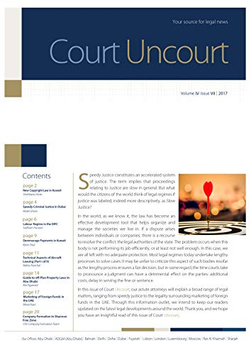 Court Uncourt | STA Law Firm: Volume IV, Issue VII (English Edition)