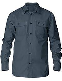 FJALLRAVEN Singi Trekking Shirt LS M Camisa de Manga Larga, Hombre, Dusk, M 5974be5a1e