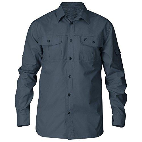 FJÄLLRÄVEN Herren Singi Trekking LS Shirt, Dusk, XL