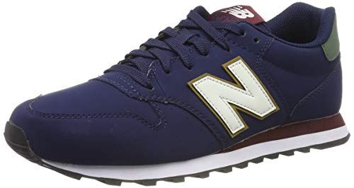 New Balance 500, Zapatillas para Hombre, Azul (Navy Navy), 43 EU
