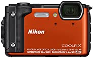 Nikon W300 Waterproof Underwater Digital Camera with TFT LCD (Orange)