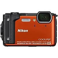 Nikon Coolpix W300 Digital Camera Orange (16 MP, 5x Optical Zoom/7.6 cm (3 Zoll) LCD Display, 4 K UHD Video, bildstabilisiert)