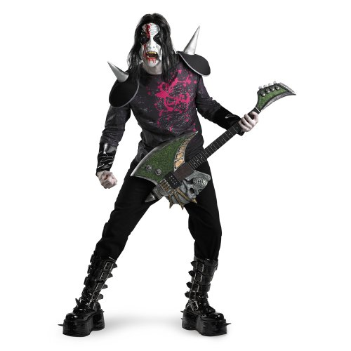 yle Costume Adult 42-46 (Metal Mayhem Kostüme)