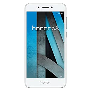 Honor 6A Smartphone (12,7 cm (5 Zoll) Metall-Gehäuse, 16GB, Android 7.0) Silber
