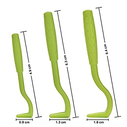 Tick Remover Removal Hook Tool, Tick Tweezers Remove Ticks for Dog Cat Horse Man, Set of 3 6