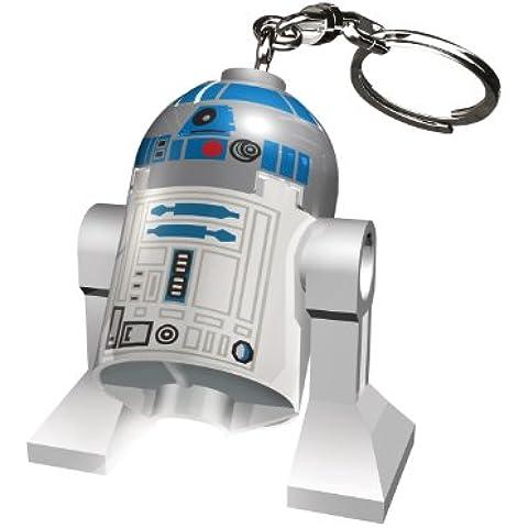 Lego Star Wars KE21 - Llavero linterna, diseño de R2D2