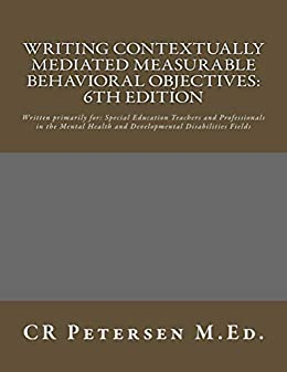 Writing Contextually Mediated Measurable Behavioral Objectives: Written specifically for Special Education Teachers and Interventionists: Gratis Para Bajar Nook Color