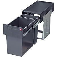 Hailo 3666111Collecteur de déchets TA Swing 30.2/31pour armoires d'une largeur minimale de 300 mm avec porte pivotante