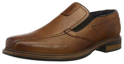 Bugatti Herren 311152601100 Slipper, Braun (Cognac 6300), 43 EU