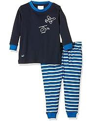 Twins Baby-Jungen Zweiteiliger Schlafanzug mit Flugzeug Druck