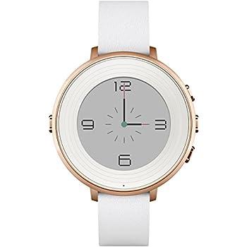 """Pebble Time Round - Smartwatch (14 mm, 1.25"""", Bluetooth, Li-ion), color rosa dorado"""