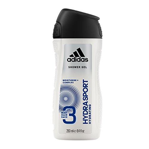 adidas Functional Hydra Sport Shower Gel 250 ml Für mehr Feuchtigkeit