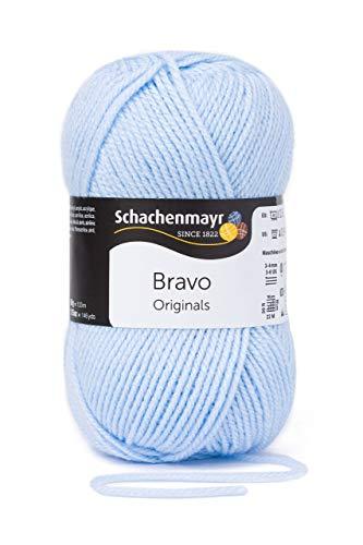 Schachenmayr Bravo 9801211-08363 glacier Handstrickgarn, Häkelgarn