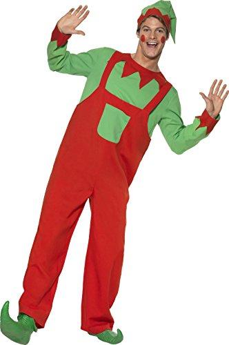 Smiffy's - Costume per travestimento da Elfo, Uomo, L