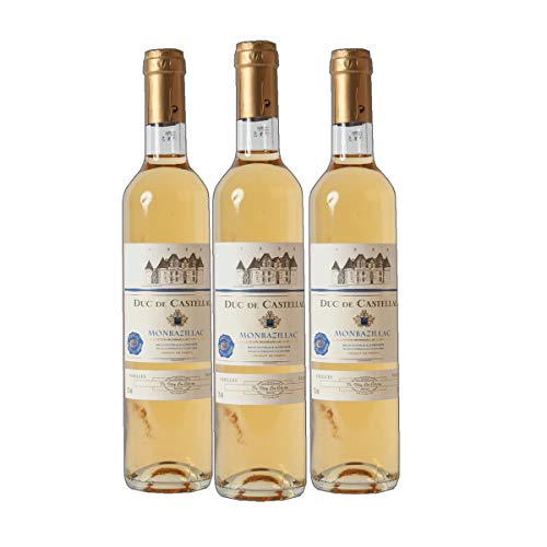 Duc de Castellac - Monbazillac AC Dessertwein Frankreich süß 2014 lieblich (3x 0.75 l)