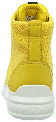 Ecco Damen Soft 3 High-Top Gelb (50571melon/melon)