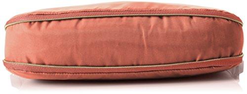 Bogner Damen Mediumshoulder Umhängetaschen, 27x22x5 cm Rot (marsala 378)