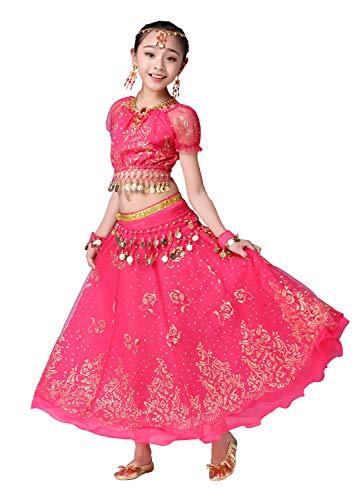 Bollywood indische Kinder Mädchen Volks bharatanatyam Bauchtanz