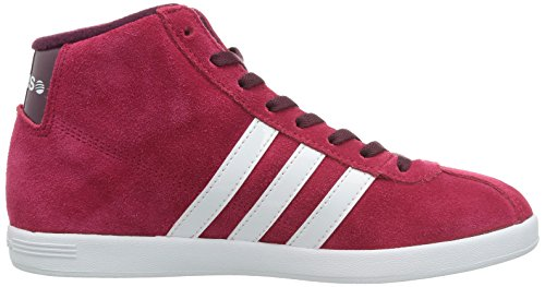 adidas , Chaussons montants femme Rouge