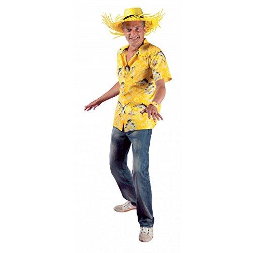 P 'tit Clown 27058Hemd Hawaii-Einheitsgröße-Gelb