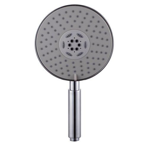 Price comparison product image KES P315 Bathroom THREE Mode Showering Handheld Shower Head EXTRA LARGE,  Polished Chrome