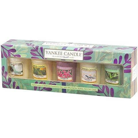 Yankee Candle 1507244 Confezione Regalo, Vetro, Multicolore, 9.2 x 26.1 x 5.5 cm