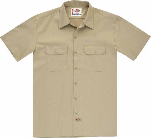 Dickies Herren Langarmshirt khaki / beige